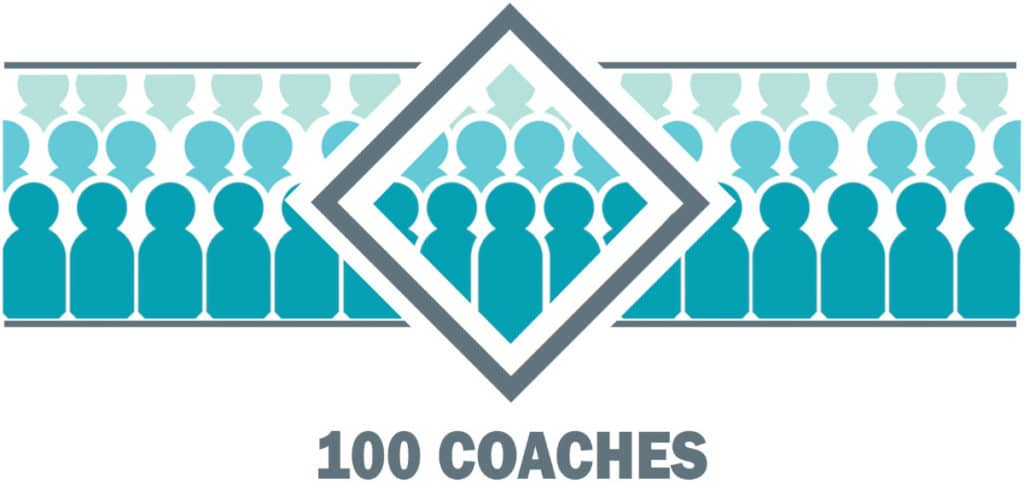 100 Coaches Logo
