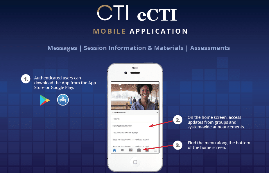Ecti Moble Application