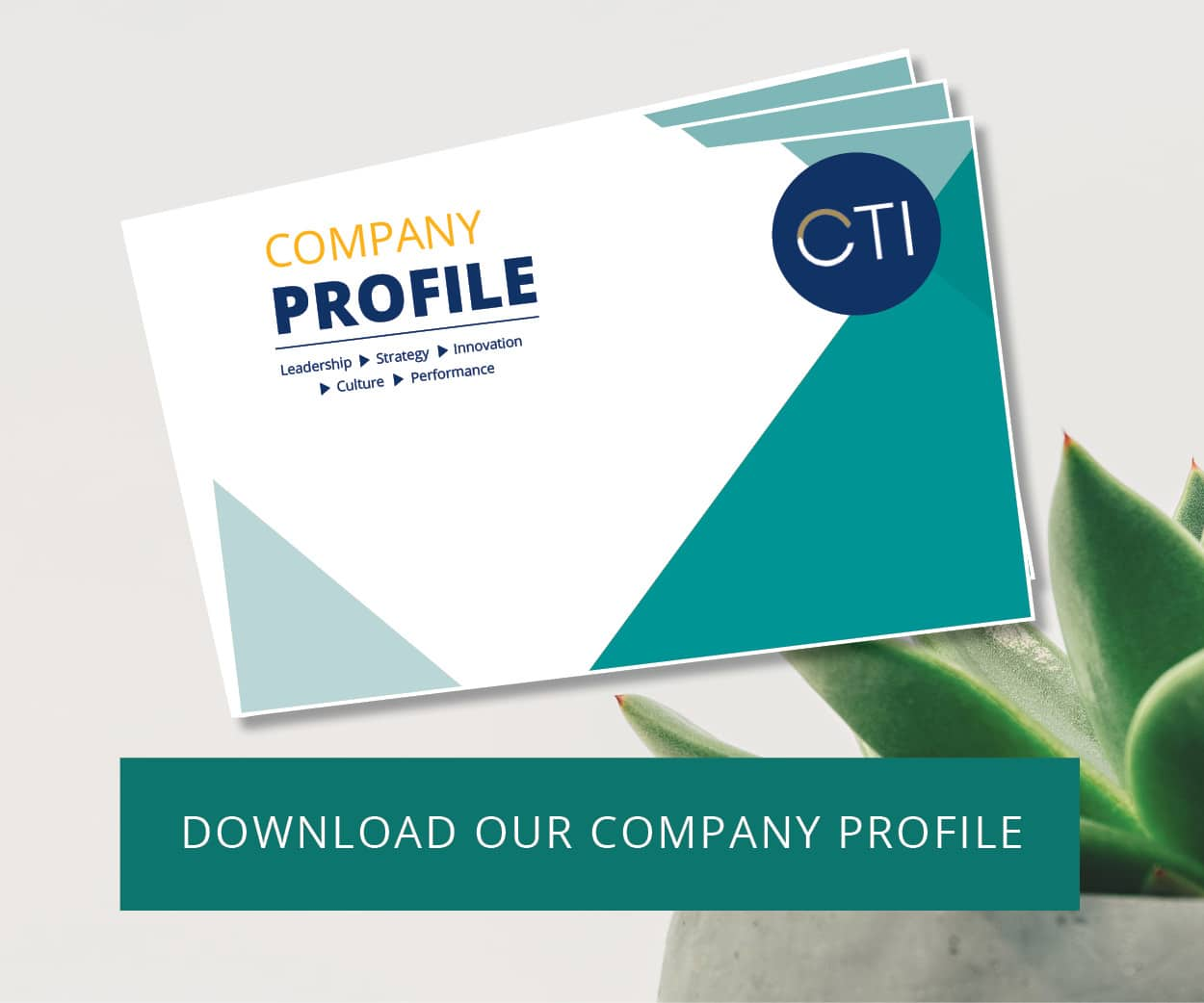 CTI Leadership Company Profile CTA