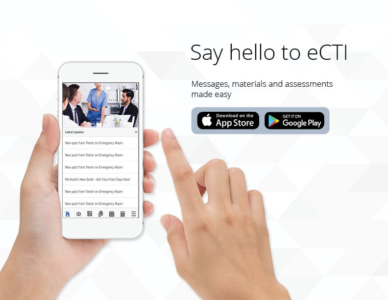 eCTI Mobile App for Leadership Training and More