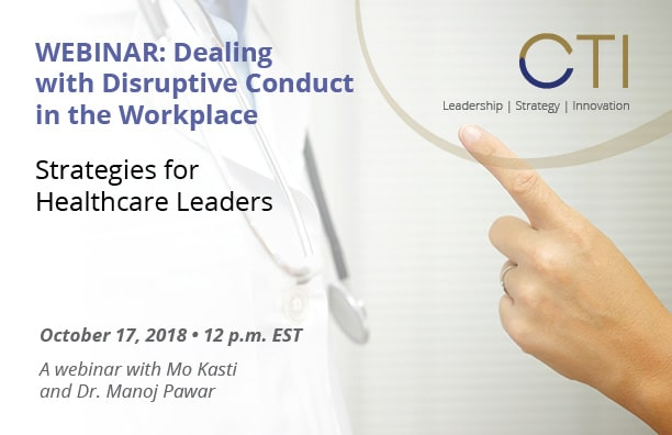 Webinar: Dealing With Disruptive Conduct