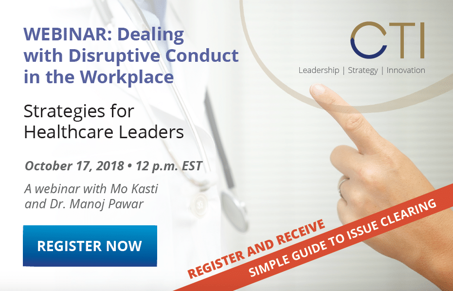 Dealing with Disruptive Conduct in the Workplace - Webinar