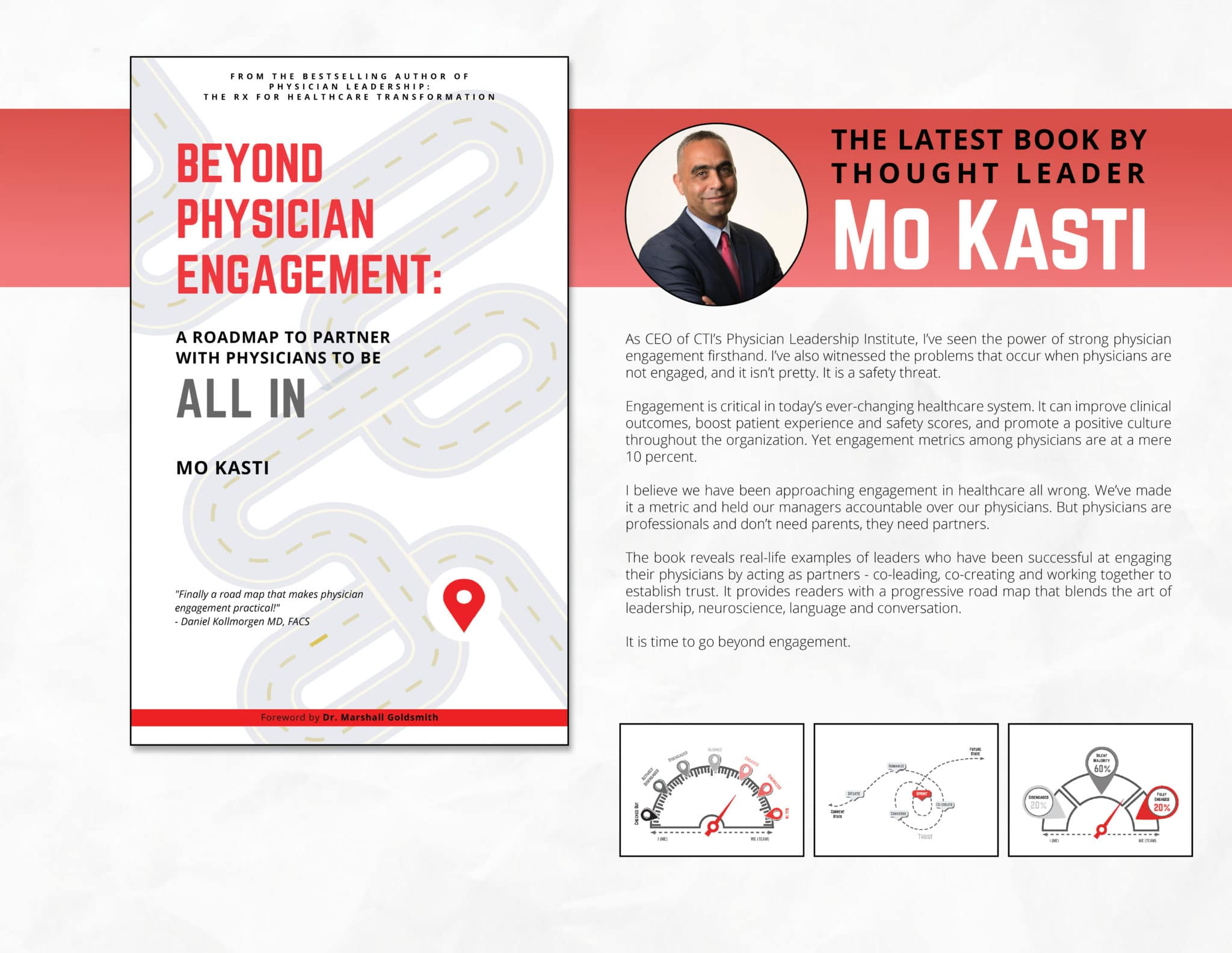 Beyond Physician Engagement: A Roadmap to Partner with Physicians to be All In by Mo Kasti