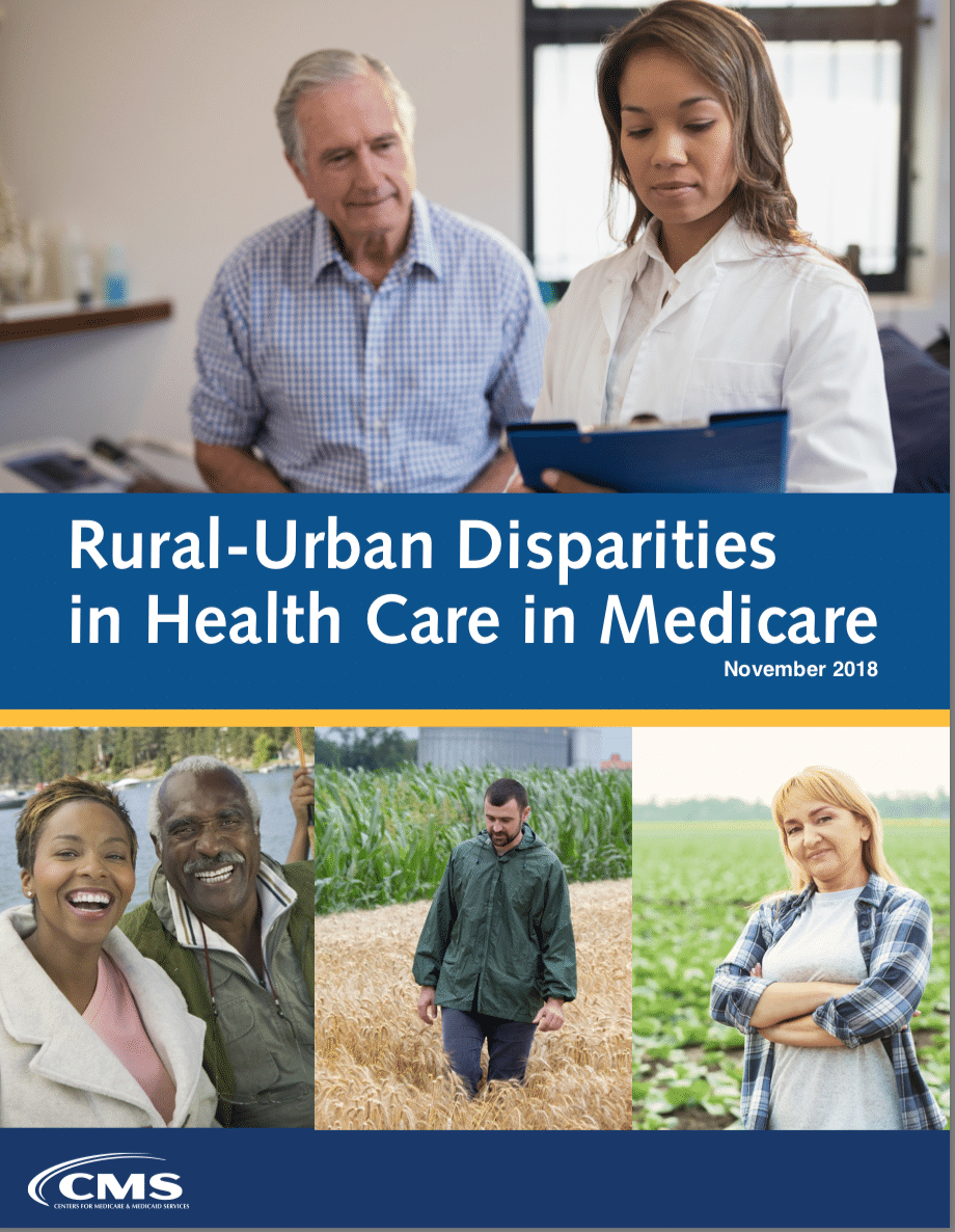 Rural-Urban Disparities in Health Care in Medicare
